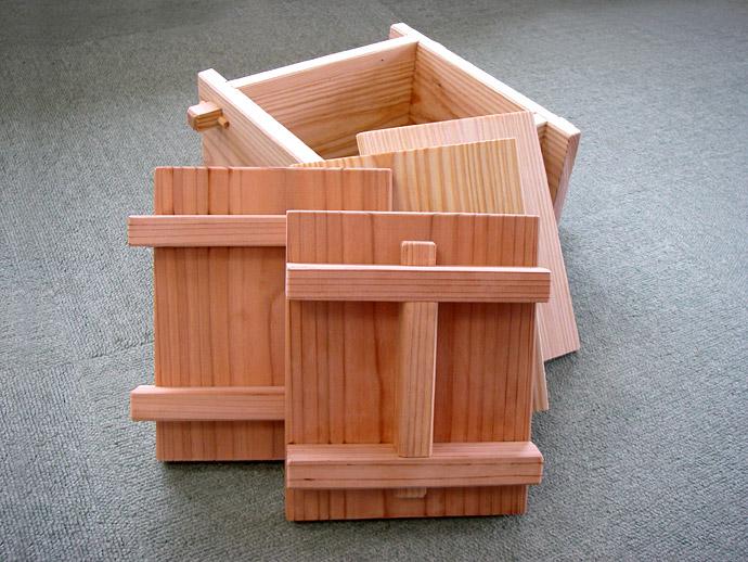おいしい木箱